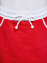 Юбка трикотажная на эластичном поясе oodji #SECTION_NAME# (красный), 14101098B/46155/4510B - вид 4