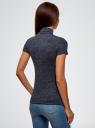Водолазка с коротким рукавом oodji для женщины (синий), 25E02001B/18605/7900N