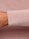 Джемпер базовый с круглым воротом oodji #SECTION_NAME# (розовый), 4B112006M/25990N/4A00M - вид 5