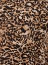 Платье вискозное с ремнем oodji #SECTION_NAME# (коричневый), 11900180B/48458/3729A - вид 5