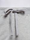 Брюки трикотажные с контрастной отделкой oodji #SECTION_NAME# (серый), 16701050/46919/2029B - вид 4
