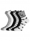 Комплект хлопковых носков (6 пар) oodji для женщины (разноцветный), 57102802T6/47469/22 - вид 2