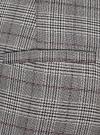 Брюки slim в клетку oodji для женщины (серый), 21706028/48722/2029C - вид 4