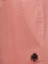 Брюки-чиносы с ремнем oodji #SECTION_NAME# (розовый), 11706190-5B/32887/4B00N - вид 5