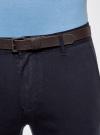 Брюки-чиносы хлопковые oodji для мужчины (синий), 2B150027M/39622N/7900N - вид 5