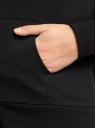 Толстовка с капюшоном и карманами oodji #SECTION_NAME# (черный), 16901079-2B/46934/2900N - вид 5