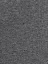 Легинсы базовые трикотажные oodji #SECTION_NAME# (серый), 18700046-2B/47618/2509M - вид 5