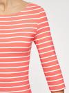 Платье трикотажное базовое oodji для женщины (красный), 14001071-2B/46148/4310S - вид 5