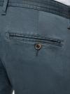 Брюки-чиносы хлопковые oodji #SECTION_NAME# (синий), 2L150106M/47064N/7500N - вид 5
