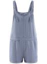 Комбинезон из лиоцелла oodji для женщины (синий), 13109059/42579/7500W