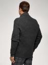 Кардиган фактурной вязки с пуговицами oodji #SECTION_NAME# (серый), 4L605052M/25365N/2300N - вид 3
