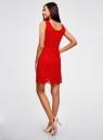 Платье из кружева без рукавов oodji #SECTION_NAME# (красный), 11905022-2/42984/4500N - вид 3