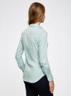 Рубашка базовая из хлопка oodji #SECTION_NAME# (синий), 11403227B/14885/7000N - вид 3