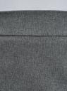Юбка короткая базовая oodji #SECTION_NAME# (серый), 11600399-1B/14917/2500M - вид 4