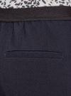 Брюки укороченные на эластичном поясе oodji для женщины (синий), 11706203-5B/14917/7900N - вид 5
