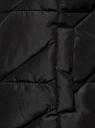Жилет стеганый с капюшоном oodji для женщины (черный), 19400016-3B/48931/2900N