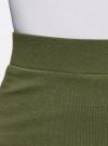 Комплект трикотажных юбок (3 штуки) oodji #SECTION_NAME# (зеленый), 14101001T3/46159/6900N - вид 4
