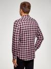 Рубашка хлопковая с нагрудным карманом oodji #SECTION_NAME# (красный), 3L310187M/49364N/7945C - вид 3