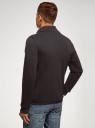 Куртка комбинированная с воротником-стойкой oodji #SECTION_NAME# (черный), 5L911039M/25278N/2900N - вид 3
