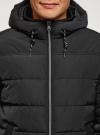 Куртка утепленная с капюшоном oodji #SECTION_NAME# (черный), 1B112006M-1/39877N/2900N - вид 4