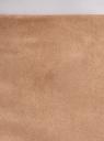 Юбка-карандаш из искусственной замши oodji для женщины (бежевый), 18H01017/47301/3500N