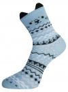 Комплект из трех пар носков oodji #SECTION_NAME# (разноцветный), 57102802-1T3/49668/4