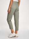 Джинсы mom fit цветные oodji для женщины (зеленый), 12105110-6/49848/6000N