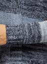 Кардиган полосатый с капюшоном oodji #SECTION_NAME# (синий), 63205244/46133/7479S - вид 5