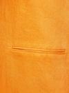 Жилет льняной длинный oodji #SECTION_NAME# (оранжевый), 22300101/16009/5500N - вид 5
