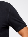 Поло из ткани пике (комплект из 2 штук) oodji для мужчины (синий), 5B422001T2/44032N/7901N