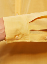 Блузка базовая из вискозы oodji #SECTION_NAME# (желтый), 21412129-1/24681/5200N - вид 5