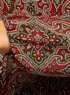 Блузка прямого силуэта с цепочками oodji #SECTION_NAME# (красный), 11414007/17358/4968E - вид 5