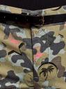 Брюки-чиносы с ремнем oodji для женщины (зеленый), 11706193B/42841/6643O