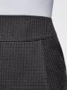 Юбка короткая с карманами oodji #SECTION_NAME# (серый), 11605056-2B/22124/2539C - вид 5