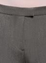 Брюки классические зауженные oodji для женщины (серый), 21703087-2/22434/2500N