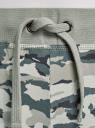 Брюки трикотажные на завязках oodji для женщины (зеленый), 16701042B/46919/6025O