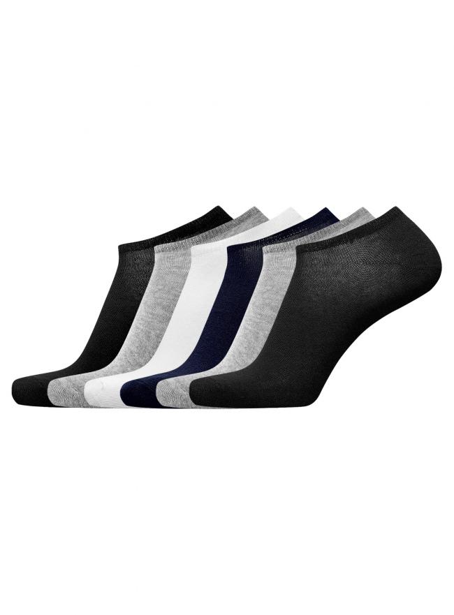 Комплект из шести пар носков oodji для мужчины (разноцветный), 7B261000T6/47469/1902N