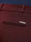 Брюки зауженные с лампасами oodji #SECTION_NAME# (красный), 11701043/31291/4900N - вид 5
