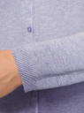 Жакет вязаный на пуговицах oodji #SECTION_NAME# (фиолетовый), 73212401-1B/45904/8000M - вид 5