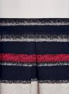 Юбка расклешенная с мягкими складками oodji #SECTION_NAME# (разноцветный), 11600391/43299/7920S - вид 4
