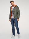 Куртка утепленная с капюшоном oodji #SECTION_NAME# (зеленый), 1L512022M/44334N/6600N - вид 6