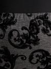 Юбка-карандаш с принтом из флока oodji #SECTION_NAME# (серый), 14101083/42376/2529E - вид 4