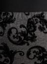 Юбка-карандаш с принтом из флока oodji для женщины (серый), 14101083/42376/2529E