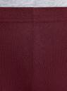 Легинсы трикотажные с надписью oodji для женщины (красный), 18700028-8/46159/4974P