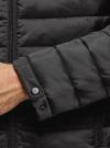 Куртка стеганая с капюшоном oodji #SECTION_NAME# (черный), 1B112009M/25278N/2900N - вид 5