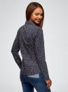 Рубашка приталенная с нагрудными карманами oodji #SECTION_NAME# (синий), 13L12001B/43609/7912O - вид 3