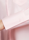 Рубашка базовая с одним карманом oodji #SECTION_NAME# (розовый), 11406013/18693/4000N - вид 5