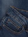 Джинсы skinny базовые oodji для женщины (синий), 12106014-3/22306/7500W