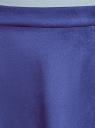 Юбка расклешенная из искусственной замши oodji #SECTION_NAME# (синий), 18H05013/47301/7500N - вид 4