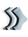 Комплект из шести пар носков oodji #SECTION_NAME# (разноцветный), 57102908T6/15430/2 - вид 2